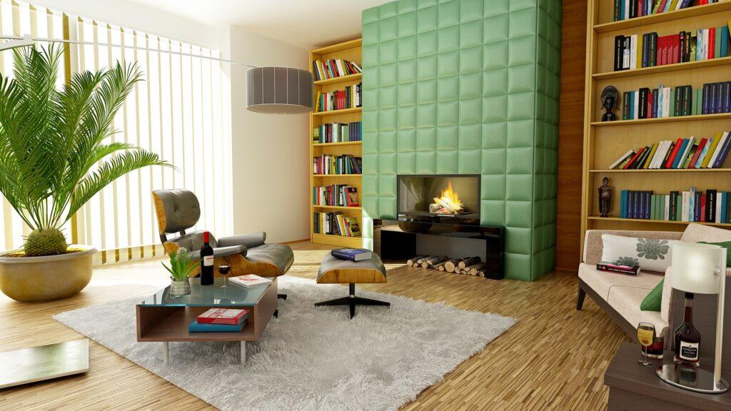 appartamento camino riscaldamento risparmio